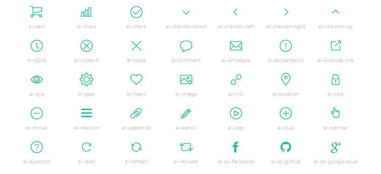 Freebie: Evil Icons, a simple and clean SVG icon pack