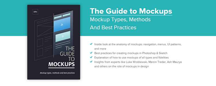 Free Ebook: The Guide to Mockups