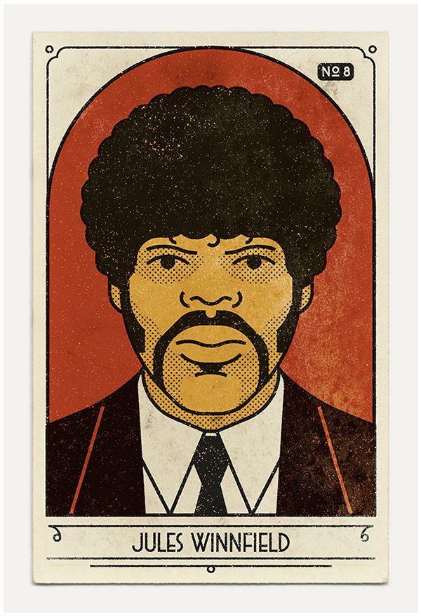 Jules Winnfield poster Pulp Fiction