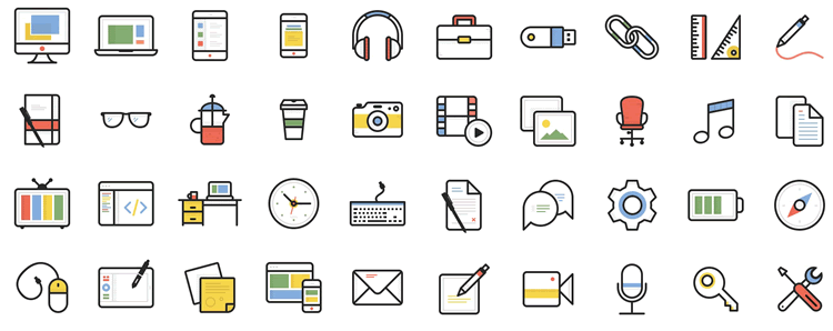 Dashel Icon Set