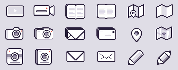 Wang Mander Icons by Michael Wang