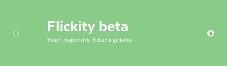Flickity CSS library galleries sliders feel lively effortless