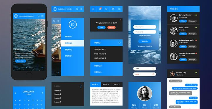Freebie: iPhone 6 UI Kit