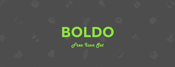 Freebie: Boldo Icon Set