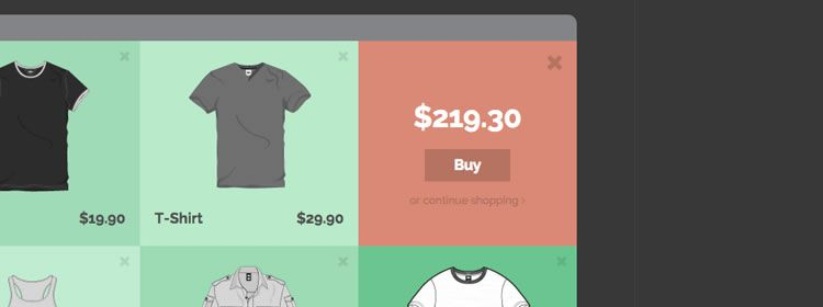 Some Ideas for Checkout Effects from Codrops