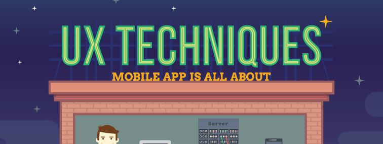 UX design techniques or what mobile app design is all about