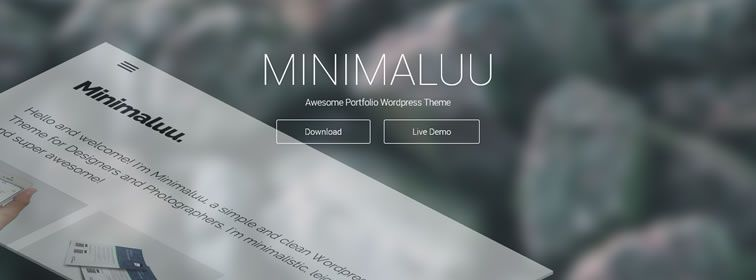 inimaluu Portfolio WordPress Theme