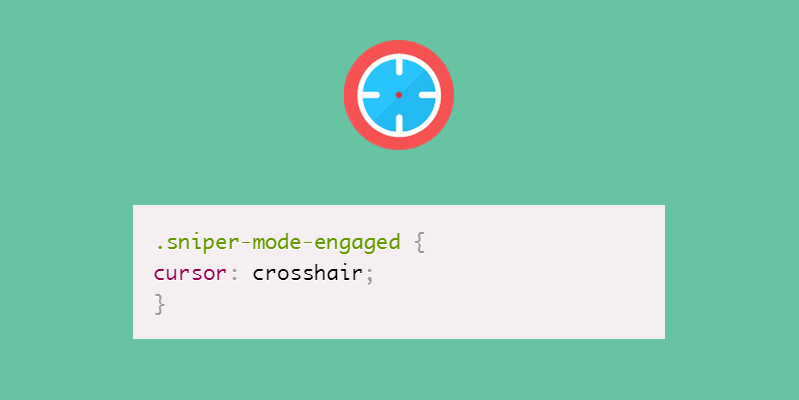 sniper-mode-engaged CSS pun