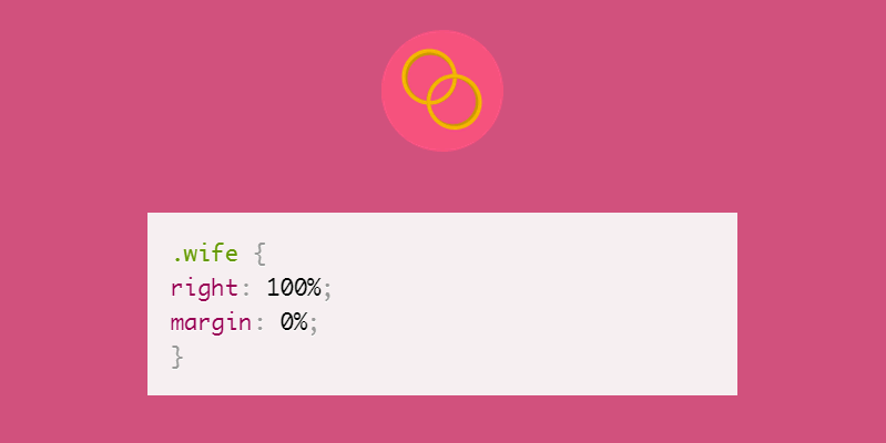 wife CSS pun