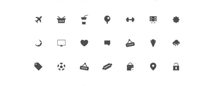 Boldo Icon Set