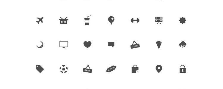 Boldo Icon Set