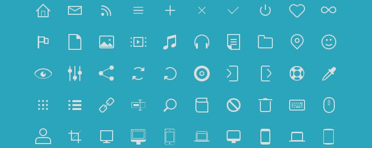 icono Pure CSS Icon Set