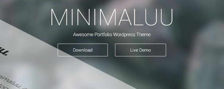 Minimaluu Portfolio Theme