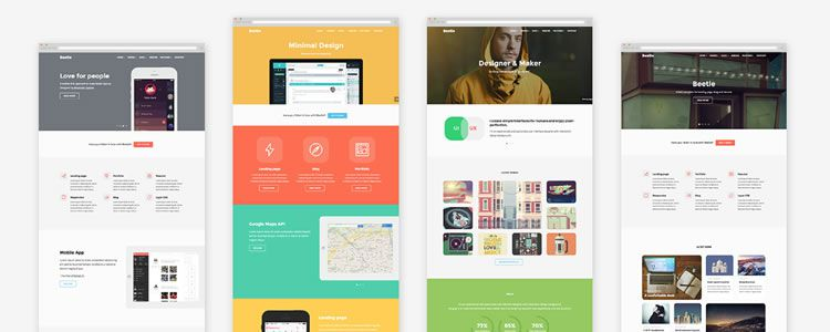 Beetle Responsive Template