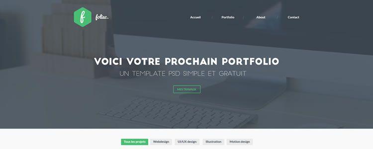 Foliac Web Template