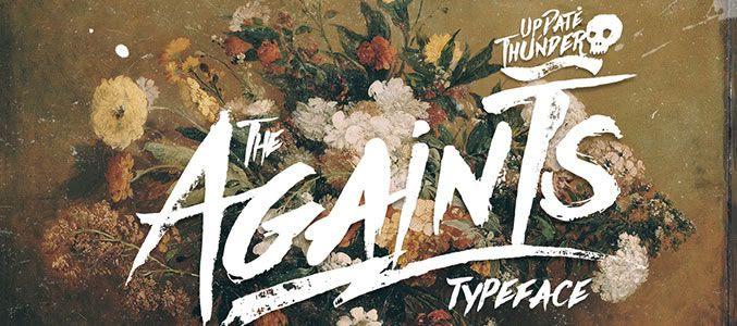 Againts Typeface