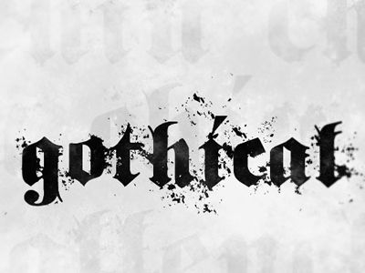 gothic-fonts