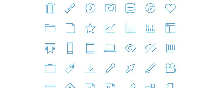 UXPin Icon Set