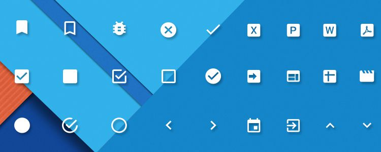 30 free material design ui kits templates icon sets material design powerpoint keynote icons toneelgroepblik Gallery