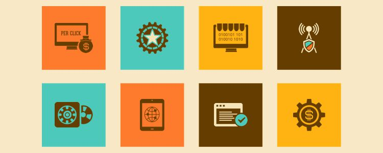 Icon Set For SEO And Data Analytics