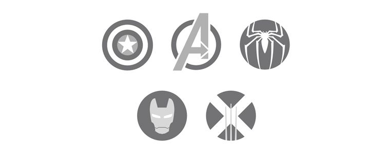 Marvel Icon Set
