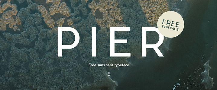 Pier Sans Serif Typeface