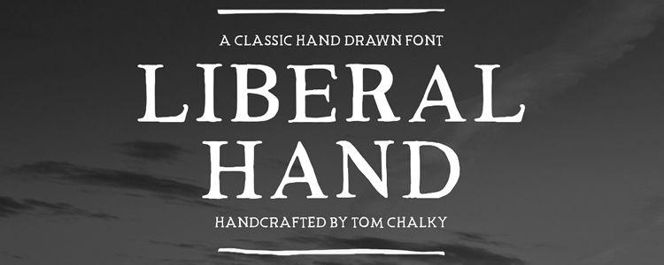 Liberal Hand Serif Font
