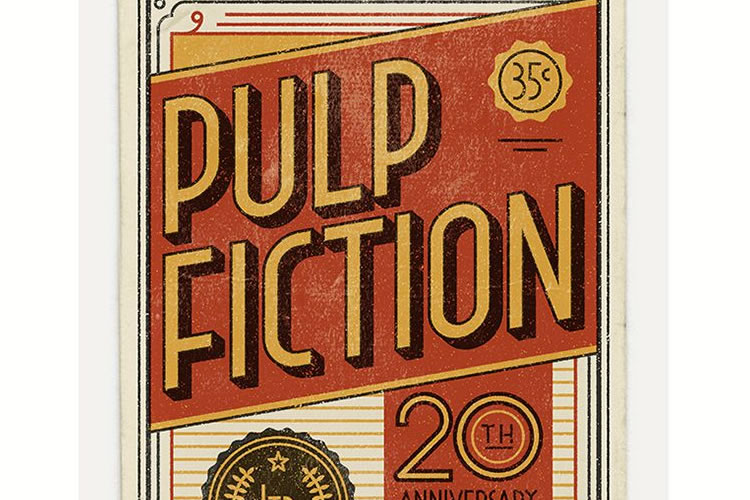 Illustrated Posters Series that Celebrates the 20th Anniversary of Pulp Fiction