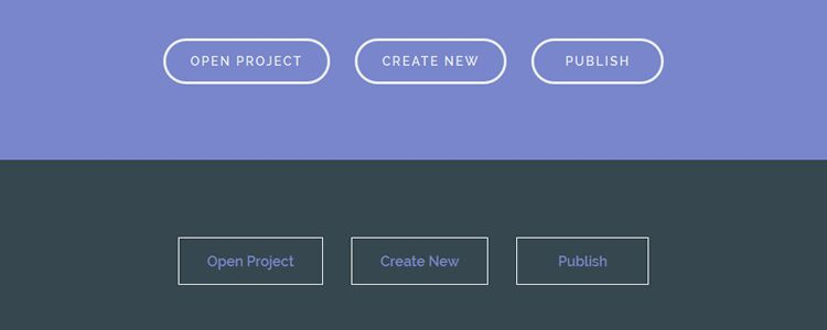 Inspiration for Button Styles and Effects by Codrops