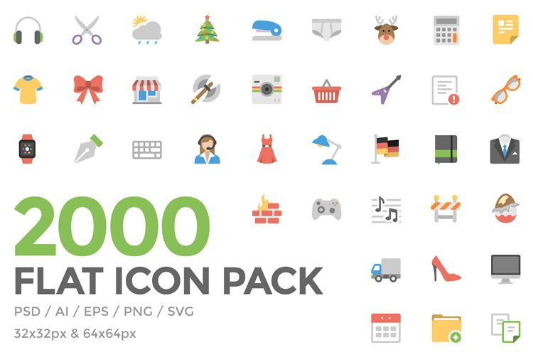 Freebie: Flat Icon Pack
