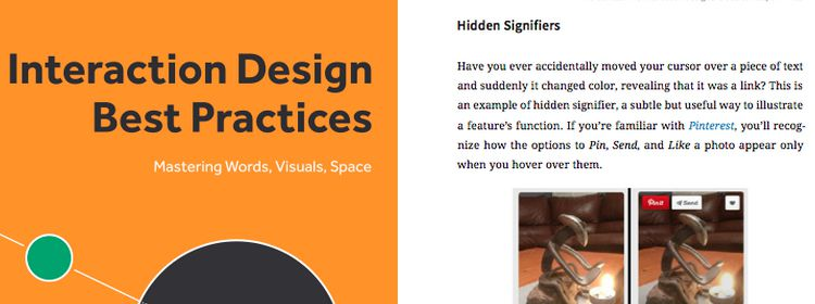 Interaction Design Best Practices, a free ebook from UXPin