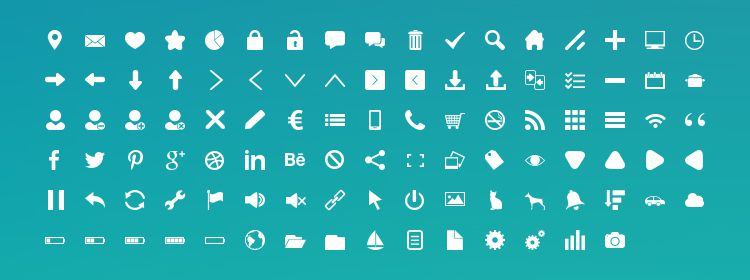 Freebie: 100 Free Icons by Candence