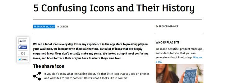 5 Confusing Icons and Their History by Spencer Grover