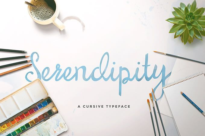 Freebie: Serendipity Script Font