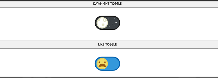 A bunch of funky CSS3 toggle buttons by y Ashley Nolan