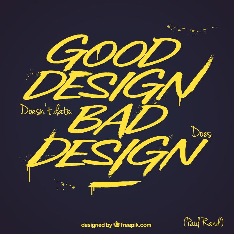 Free Typographic Design Quote Templates
