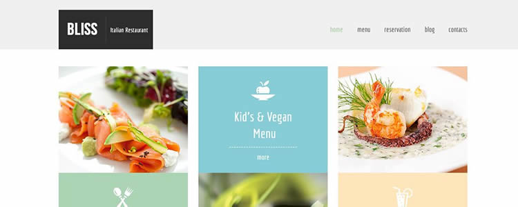 Bliss html5 template website responsive