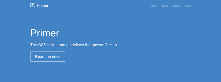 Primer CSS toolkit guidelines power GitHub