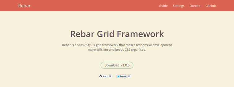 Rebar,  a new Sass / Stylus grid framework