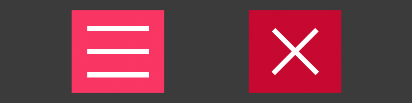 How to Animate a CSS-Only Hamburger Menu and Icons