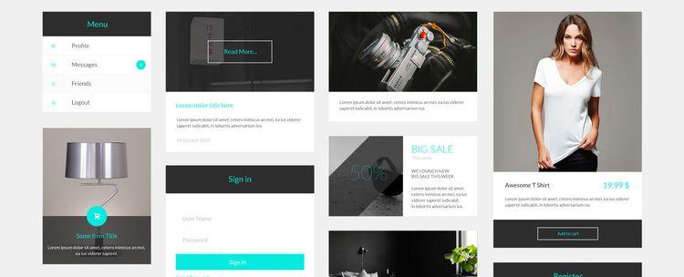 Sven Modern Free UI Kit