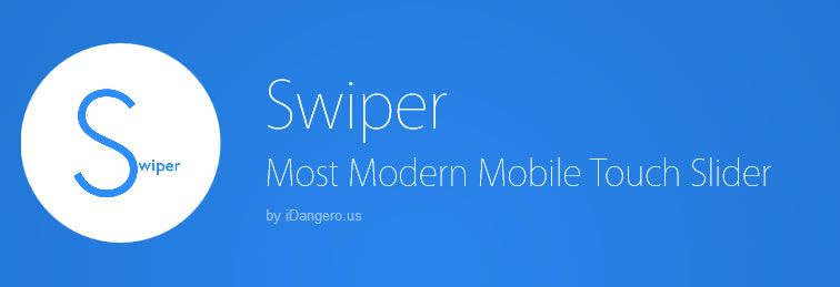 Swiper, a modern, mobile touch slider with hardware accelerated transitions