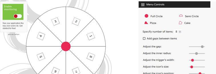 CIRCULUS.SV SVG circular menu generator