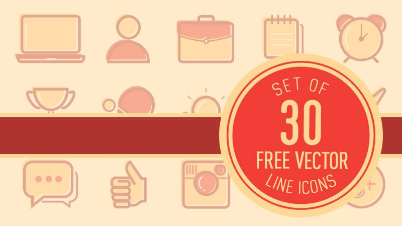 Freebie: Vector Line Icons
