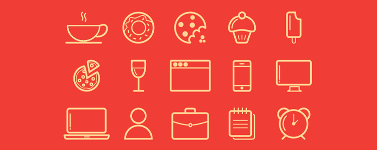 Design Essentials Vector Line Icons