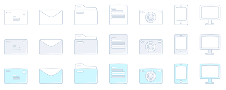Sketch Icon Set