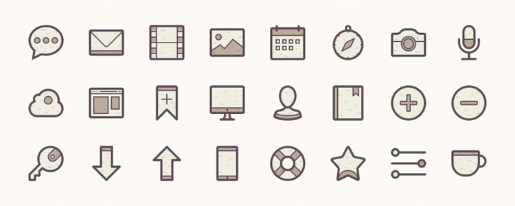Barker Icon Set