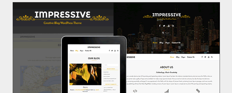 Impressive Pro Business Theme