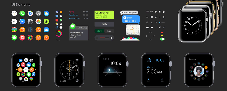 Freebie: Apple Watch GUI
