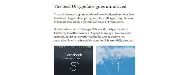 The best UI typeface goes unnoticed by Ire Aderinokun